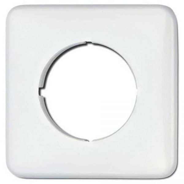 119330 afdekraam vierkant wit bakeliet