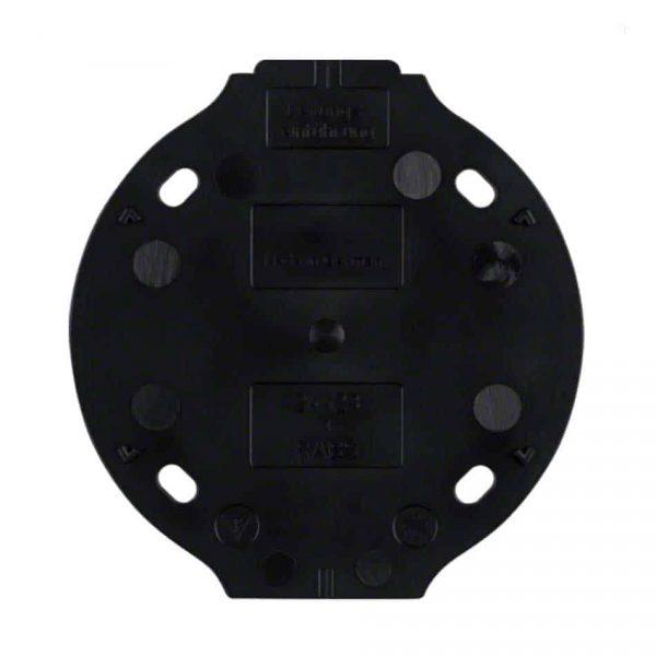 NB184621 Bodemplaat voor Opbouwrand zwart