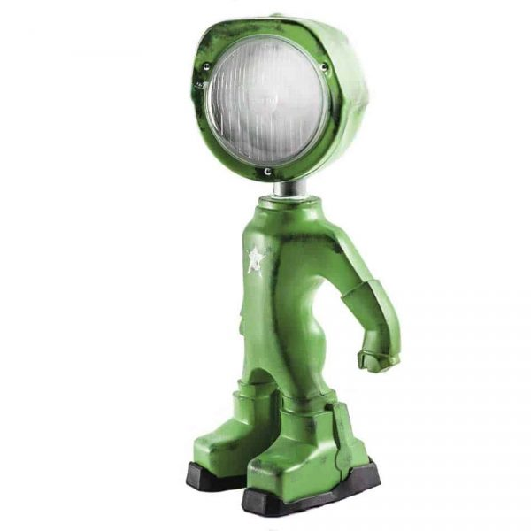 50012 The Lampster Army Industriële Bureaulamp Groen