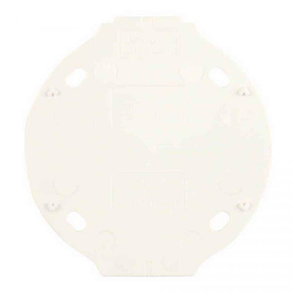 184623 Bodemplaat voor Opbouwrand wit
